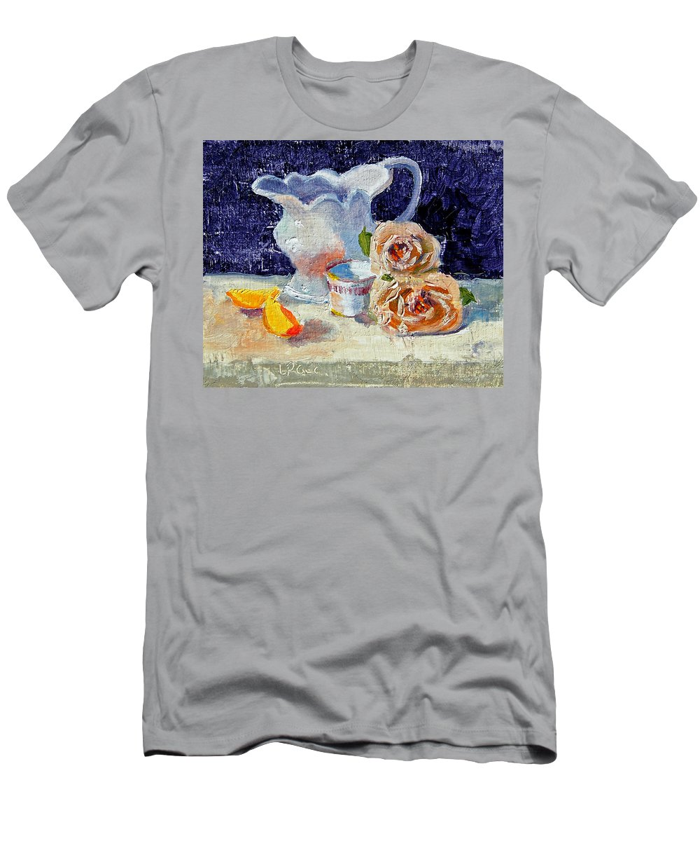 Pitcher Men's T-Shirt (Athletic Fit) featuring the painting Pitcher Picture by Laurie Paci