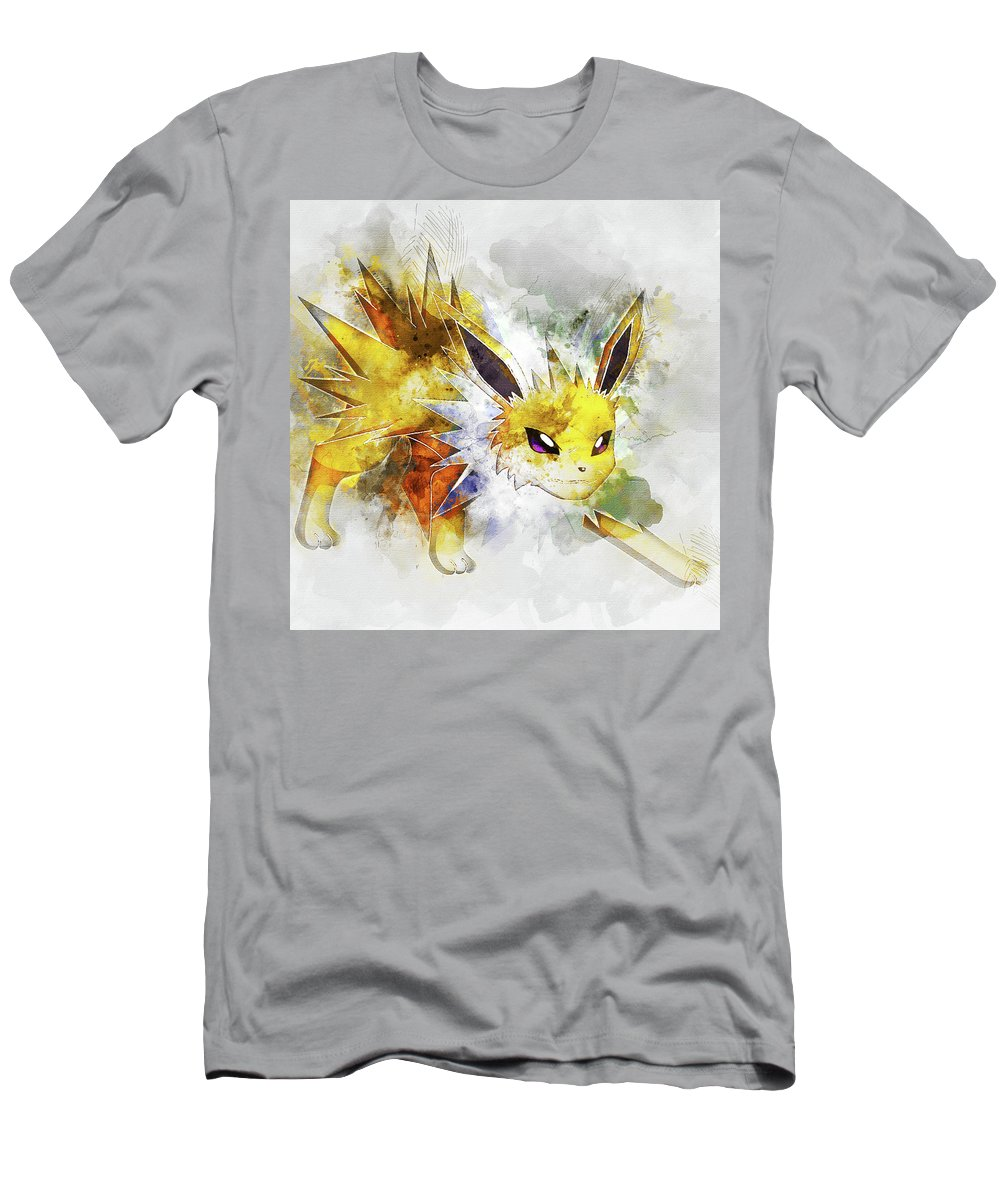 fd9d35f8 Pokemon Jolteon Abstract Portrait - By Diana Van T-Shirt for Sale by Diana  Van