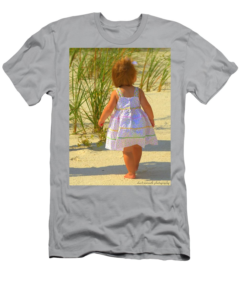 Baby Men's T-Shirt (Athletic Fit) featuring the photograph Precious by Sheri Bartoszek