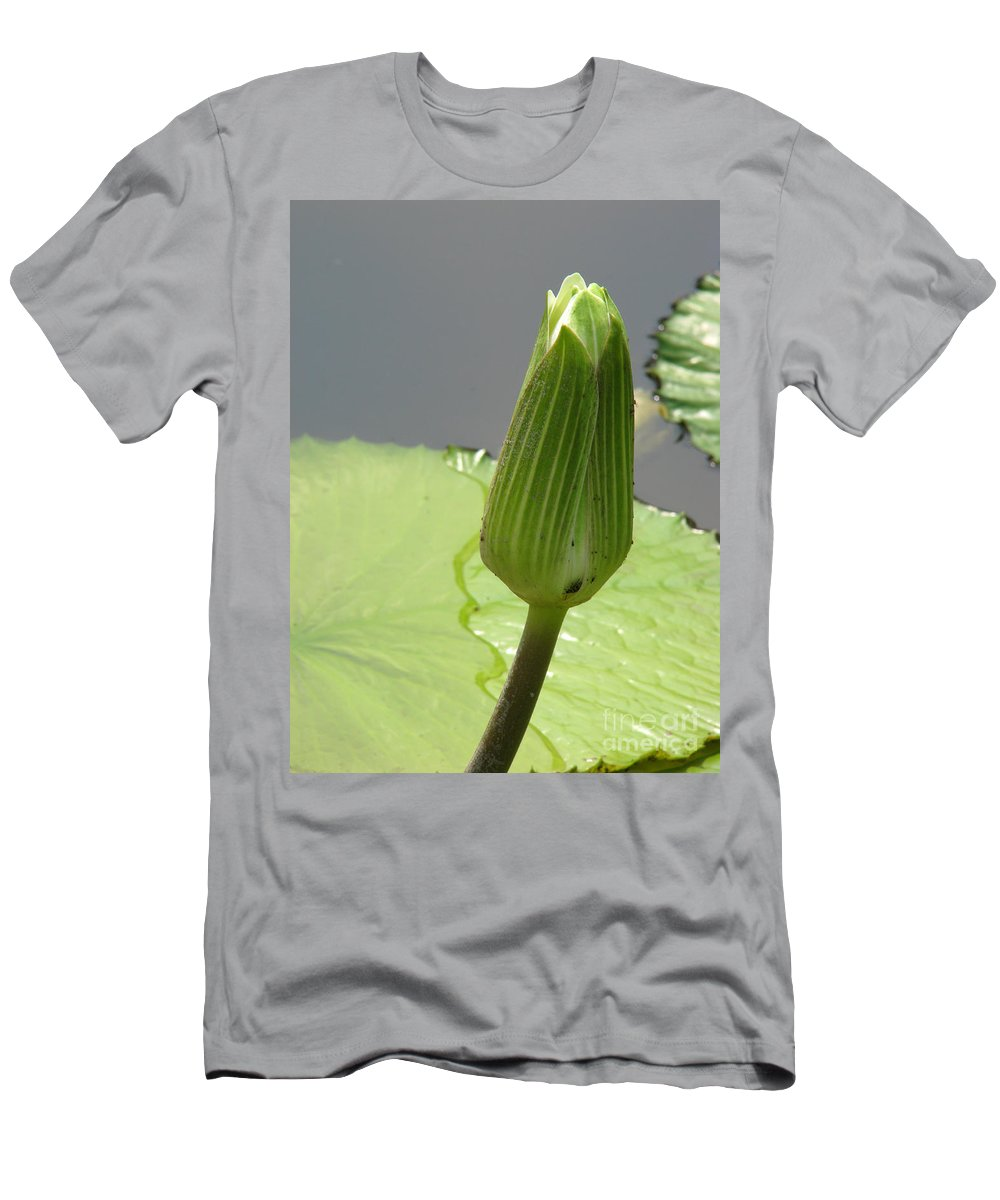 Lilly Men's T-Shirt (Athletic Fit) featuring the photograph Ready To Bloom by Amanda Barcon