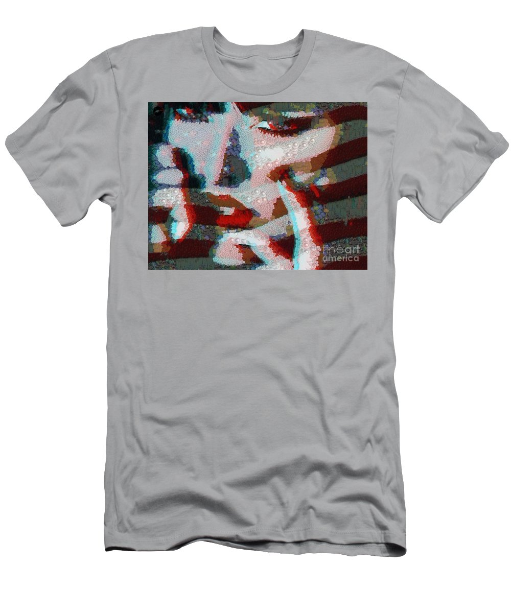 Red white and blue t shirt for sale by catherine lott for Red and blue t shirt