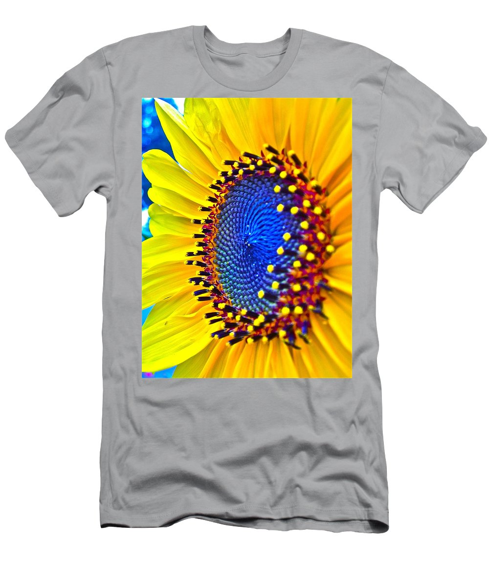 Photographs Men's T-Shirt (Athletic Fit) featuring the photograph Rejoice by Gwyn Newcombe
