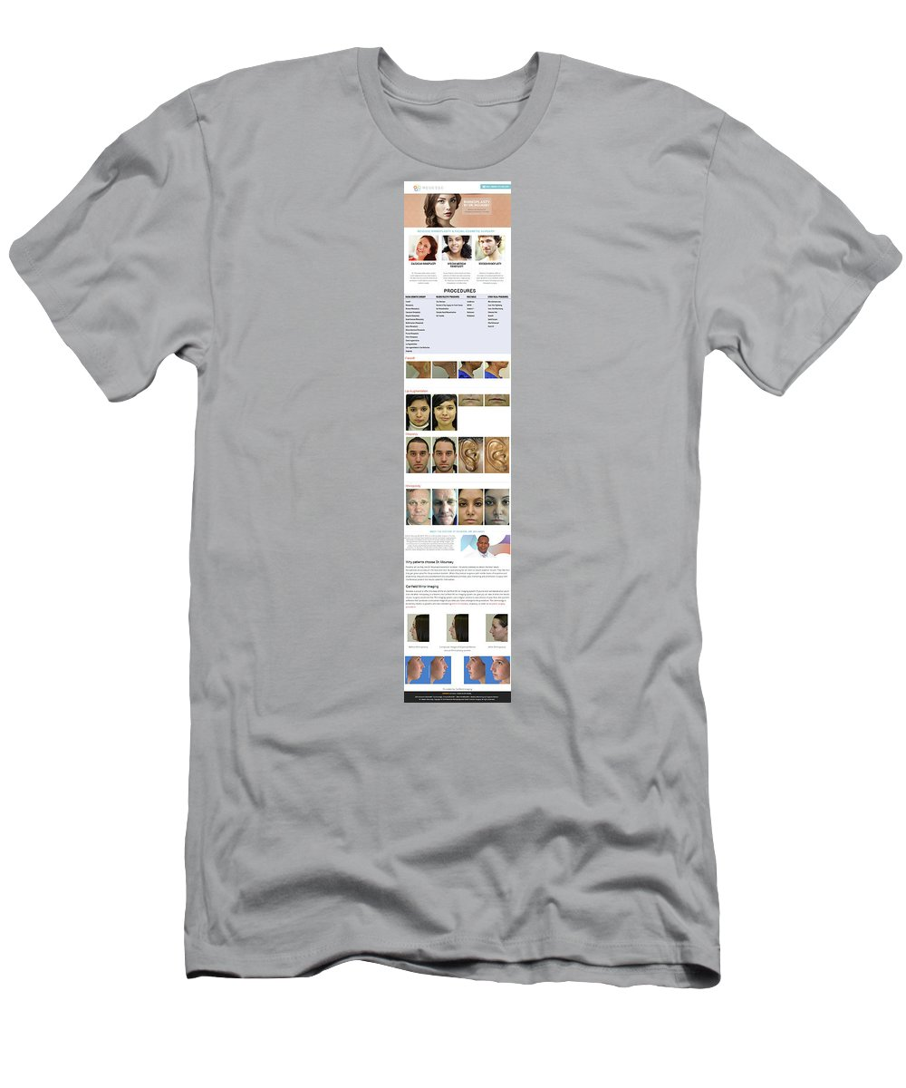Men's T-Shirt (Athletic Fit) featuring the photograph Revesse Infographics by Mike Harrison