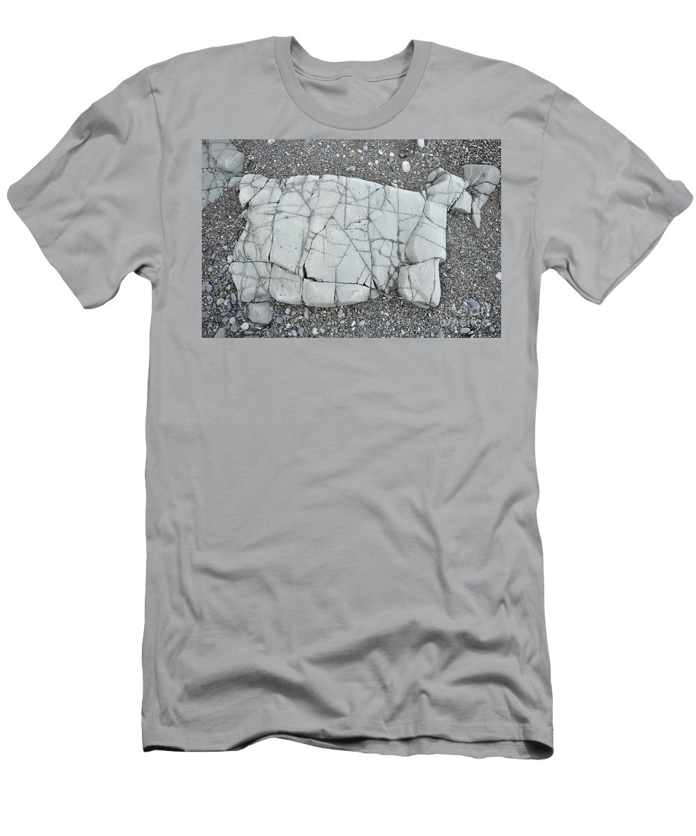 Rock Men's T-Shirt (Athletic Fit) featuring the photograph Rock Dog by Glenn Gordon