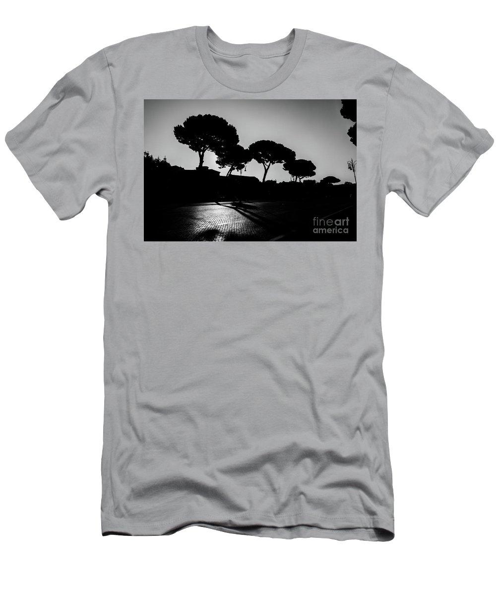 Rome Men's T-Shirt (Athletic Fit) featuring the photograph Roman Morning by Juan Pablo Esquivel