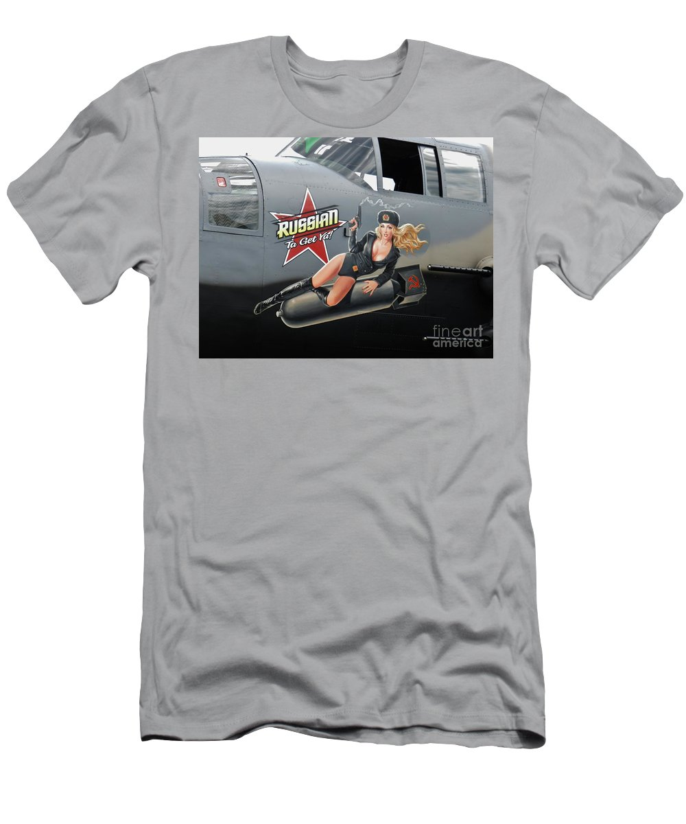 Russian To Get You Men's T-Shirt (Athletic Fit) featuring the photograph Russian To Get You by Snapshot Studio