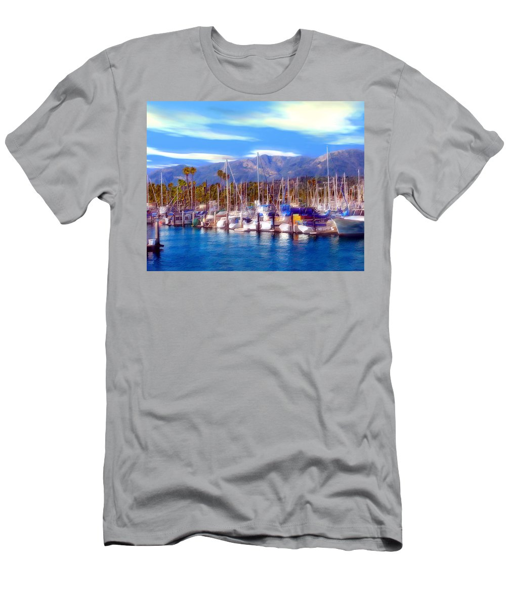 Charbor Men's T-Shirt (Athletic Fit) featuring the photograph Safe Haven by Kurt Van Wagner