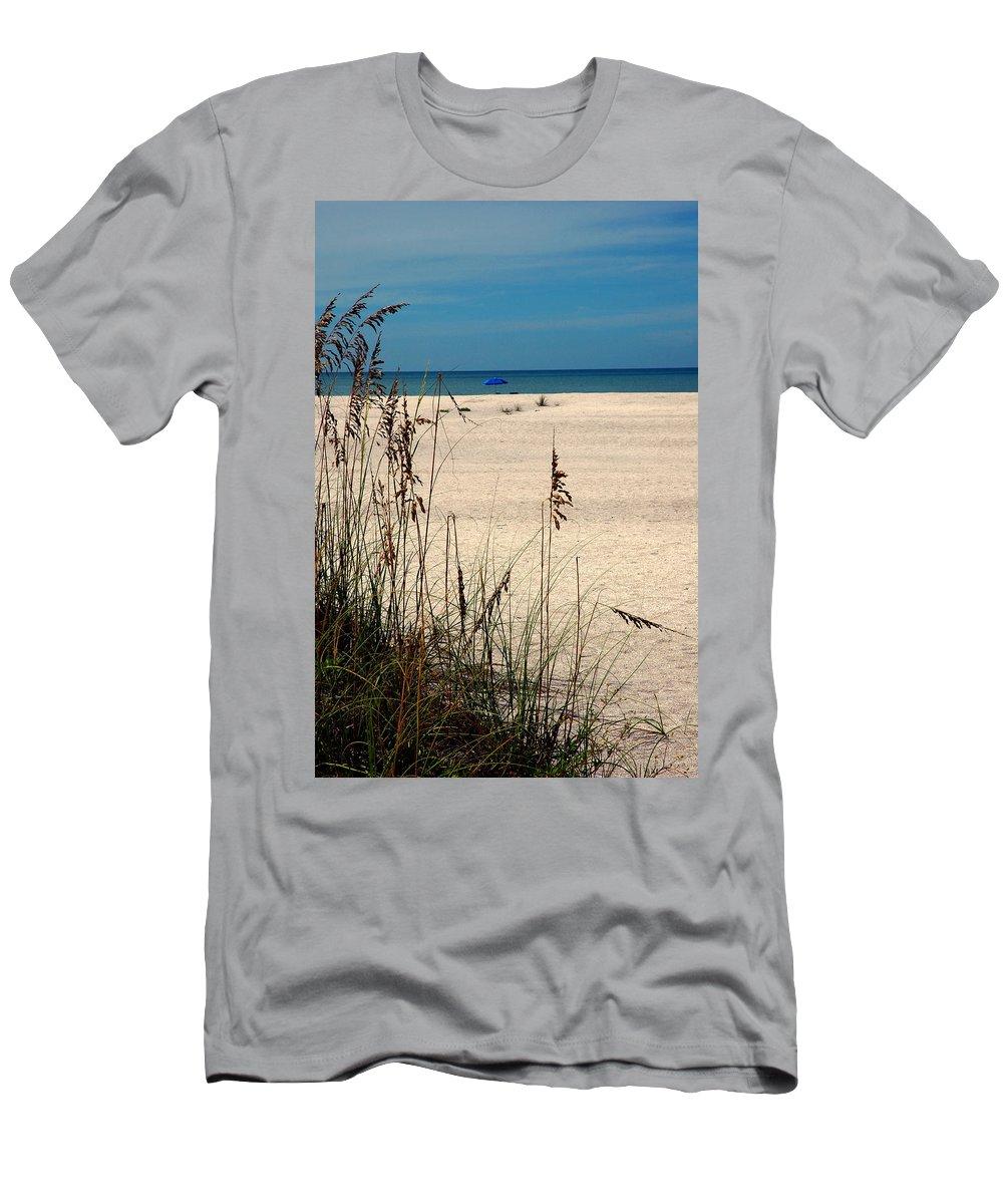 Sanibel Island Men's T-Shirt (Athletic Fit) featuring the photograph Sanibel Island Beach Fl by Susanne Van Hulst