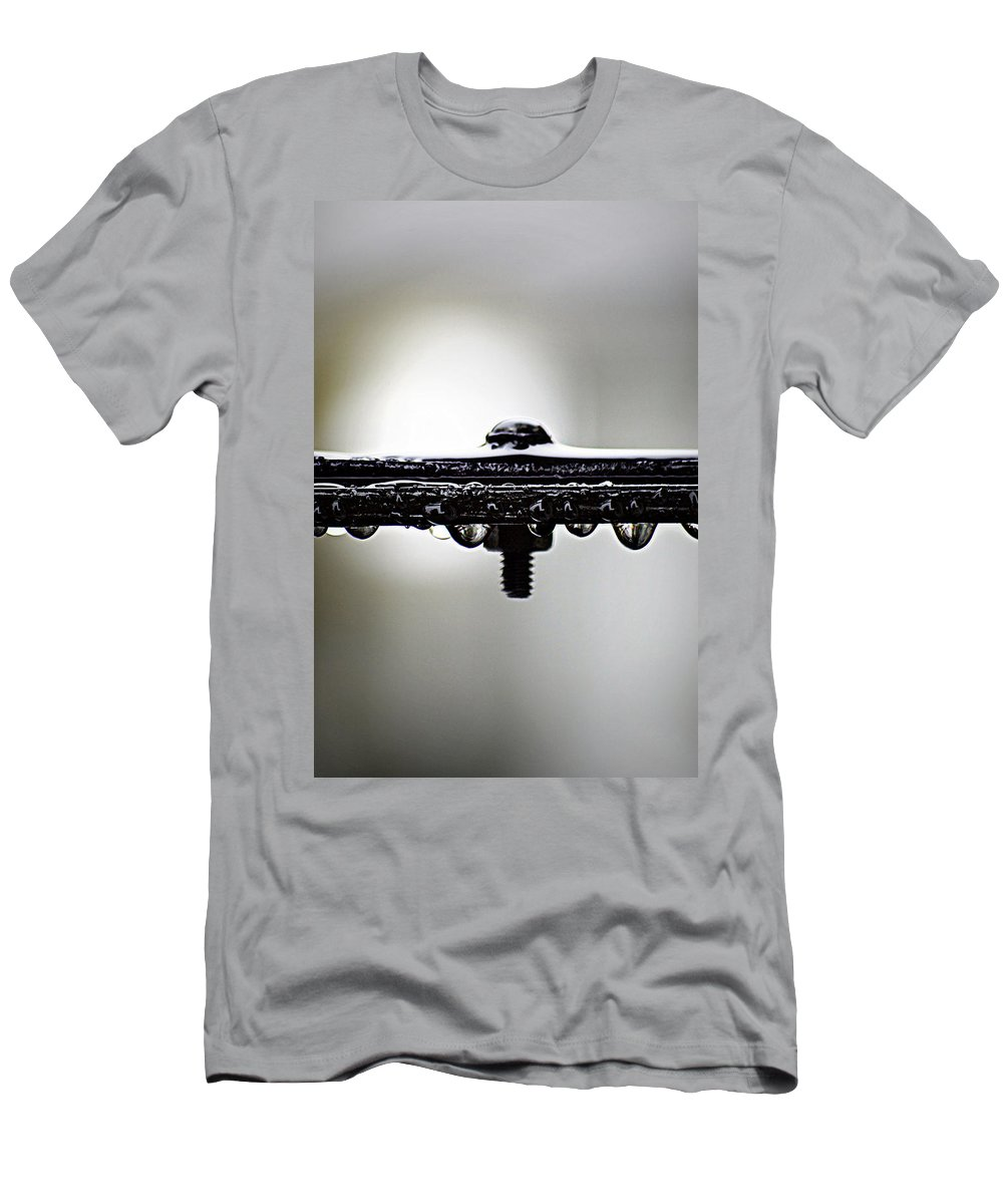 Rain Men's T-Shirt (Athletic Fit) featuring the photograph Screw This Rain by Lisa Knechtel