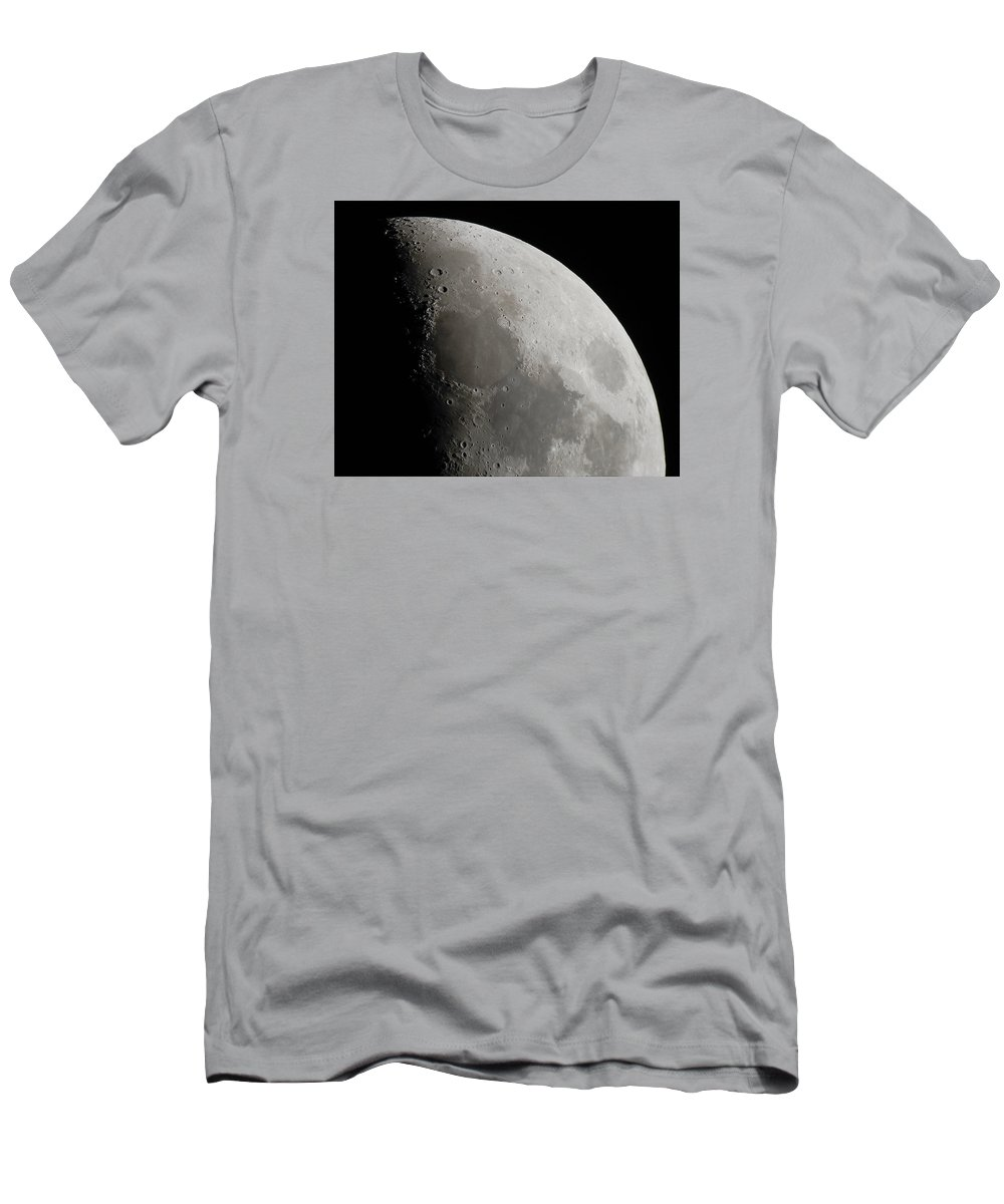 Moon Men's T-Shirt (Athletic Fit) featuring the photograph Sea Of Tranquility by Paul Gibson