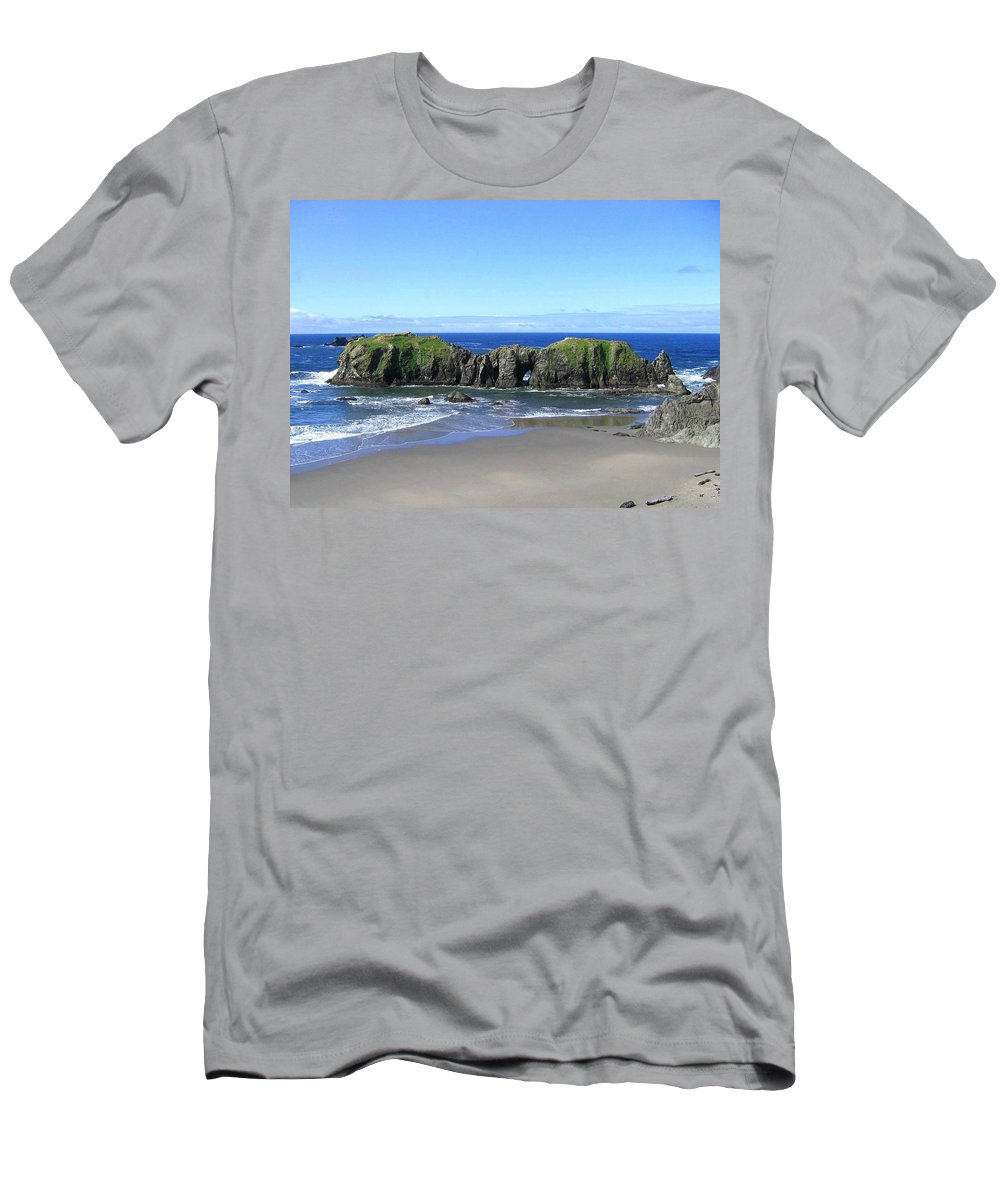 #seascape Men's T-Shirt (Athletic Fit) featuring the photograph Seascape Supreme by Will Borden