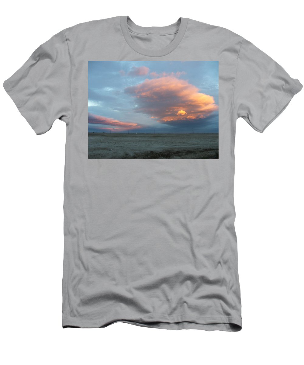 Desert Men's T-Shirt (Athletic Fit) featuring the photograph Self-abandoned by Shari Chavira
