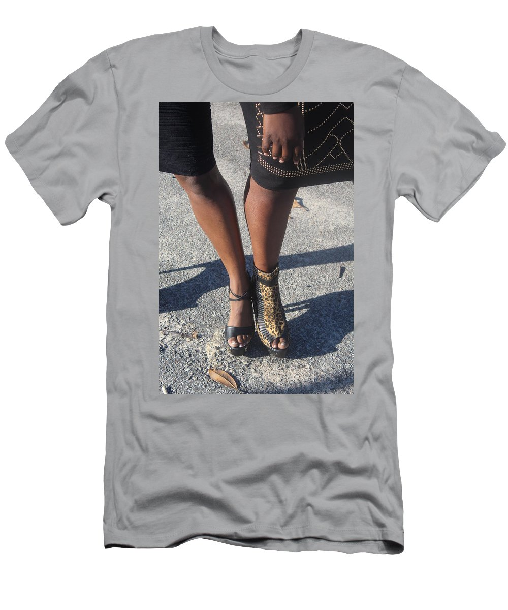 Feet Men's T-Shirt (Athletic Fit) featuring the photograph Sexy Friends 7 by Christopher White