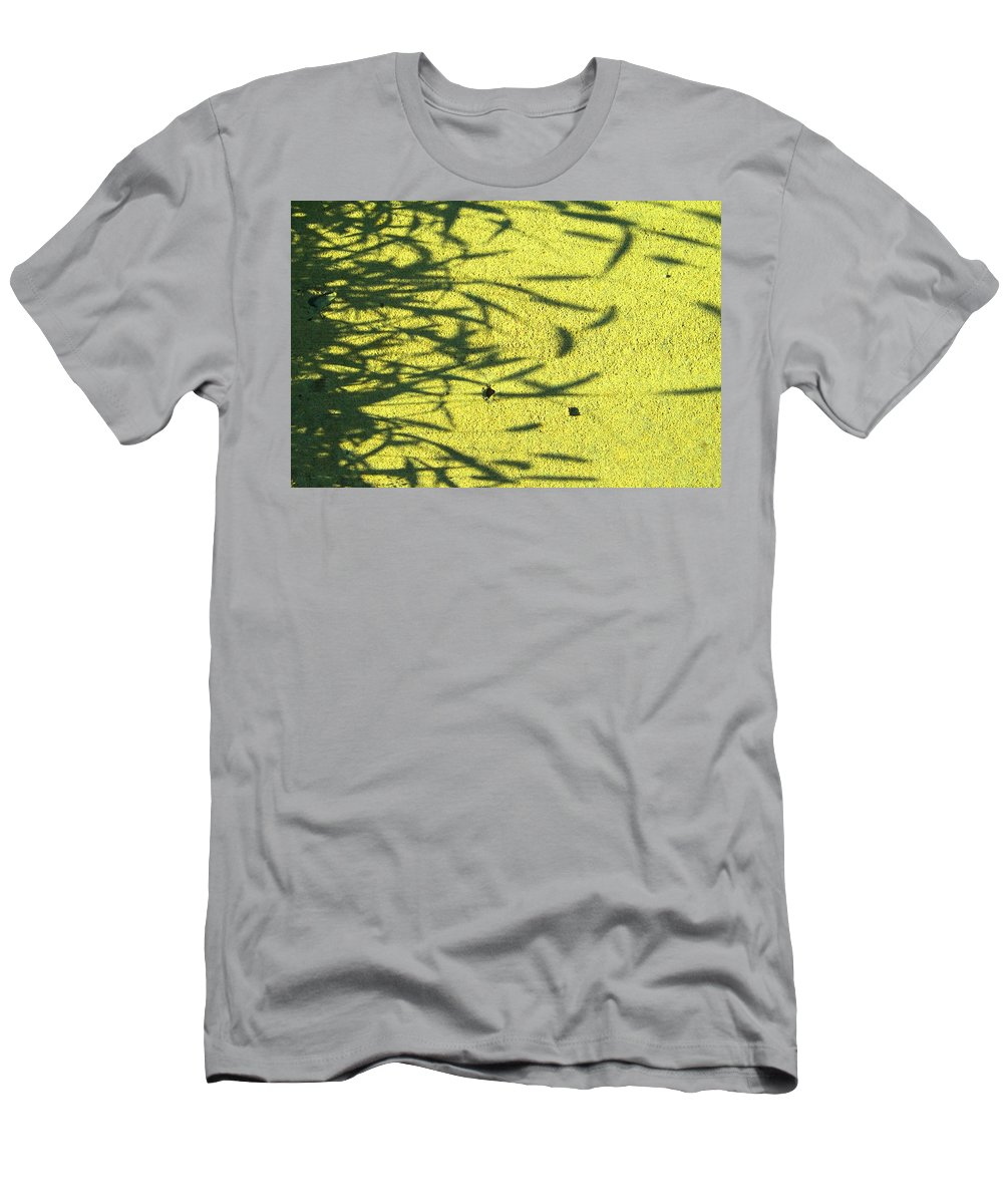 Abstract Men's T-Shirt (Athletic Fit) featuring the photograph Shadows by Lenore Senior