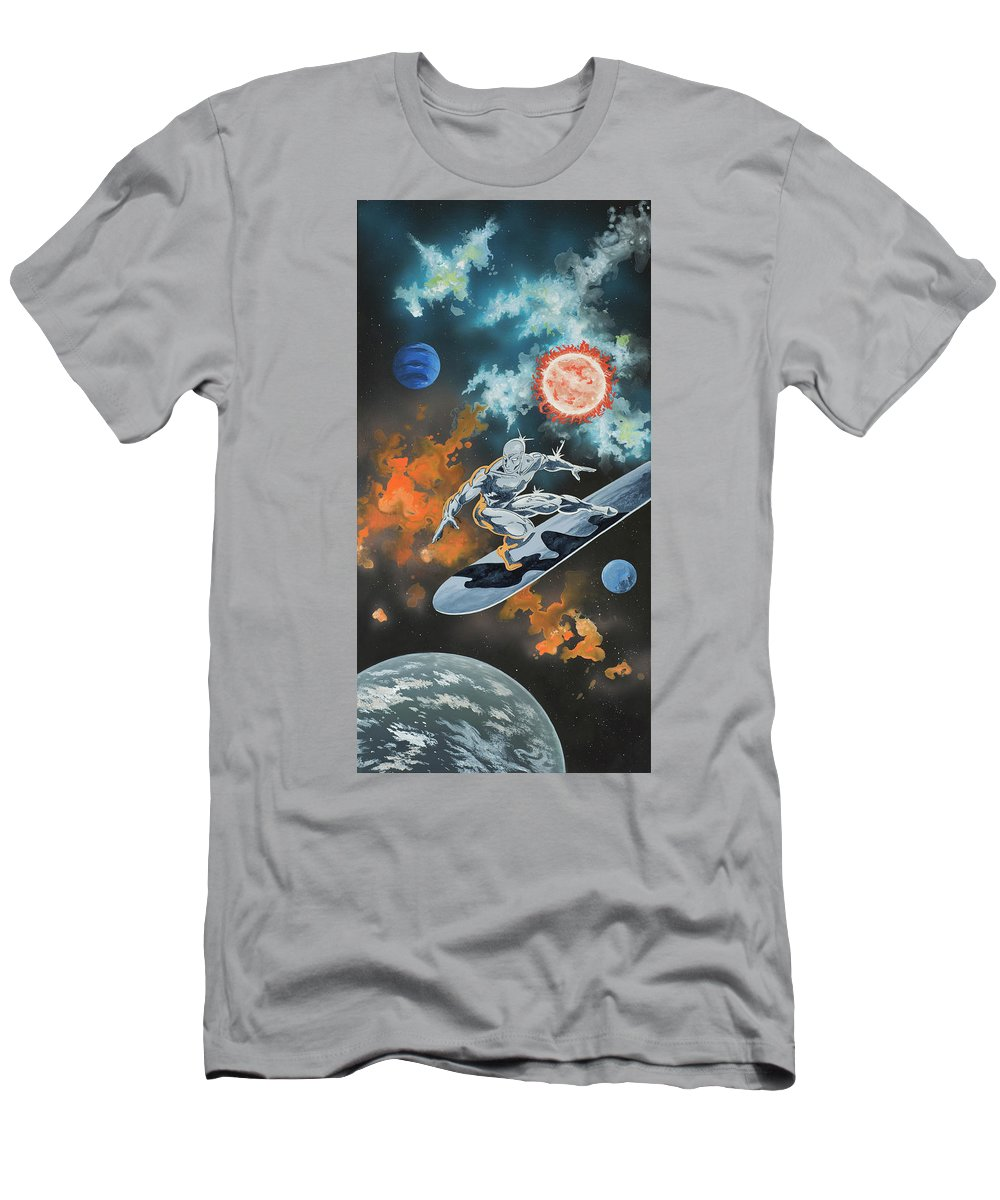 Silver Surfer T Shirt For Sale By Dario Zanesco