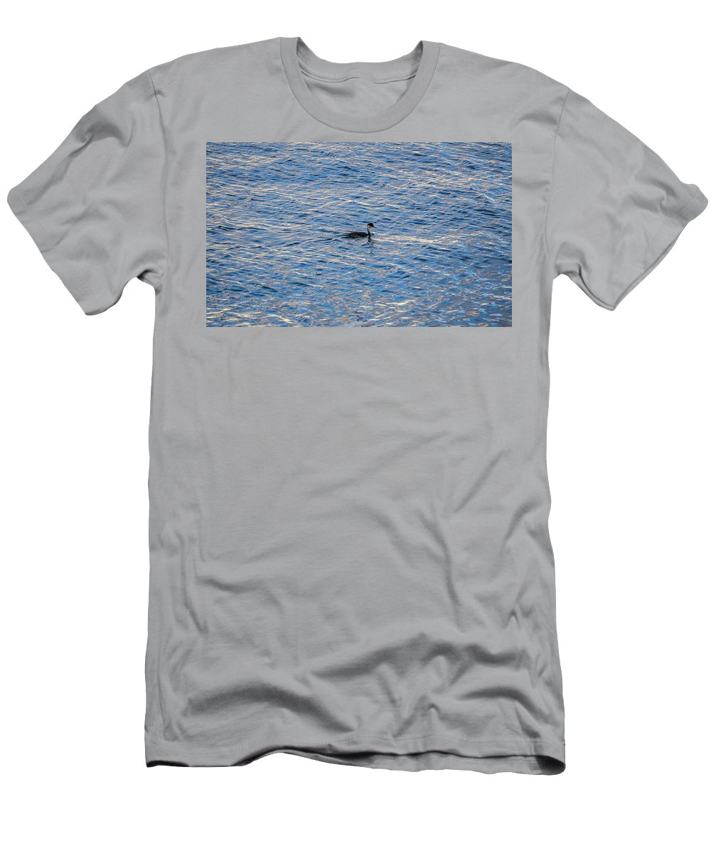 Men's T-Shirt (Athletic Fit) featuring the photograph Single by John Pierpont