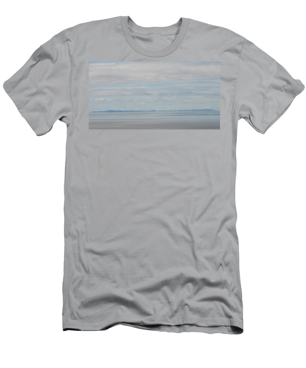 Sky Men's T-Shirt (Athletic Fit) featuring the photograph Skyscape by Kelly Mezzapelle