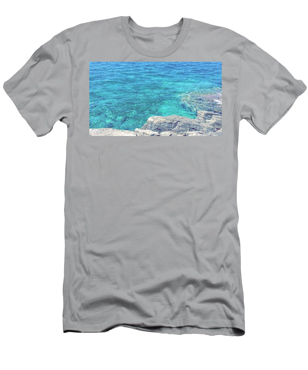 Landscapes Slim Fit T-Shirts