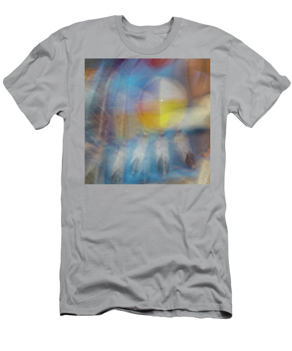 Pow Wow Men's T-Shirt (Athletic Fit) featuring the photograph Smudge 248 by M Bubba Blume