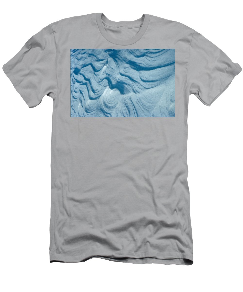Snow Men's T-Shirt (Athletic Fit) featuring the photograph Snow by Flavia Westerwelle