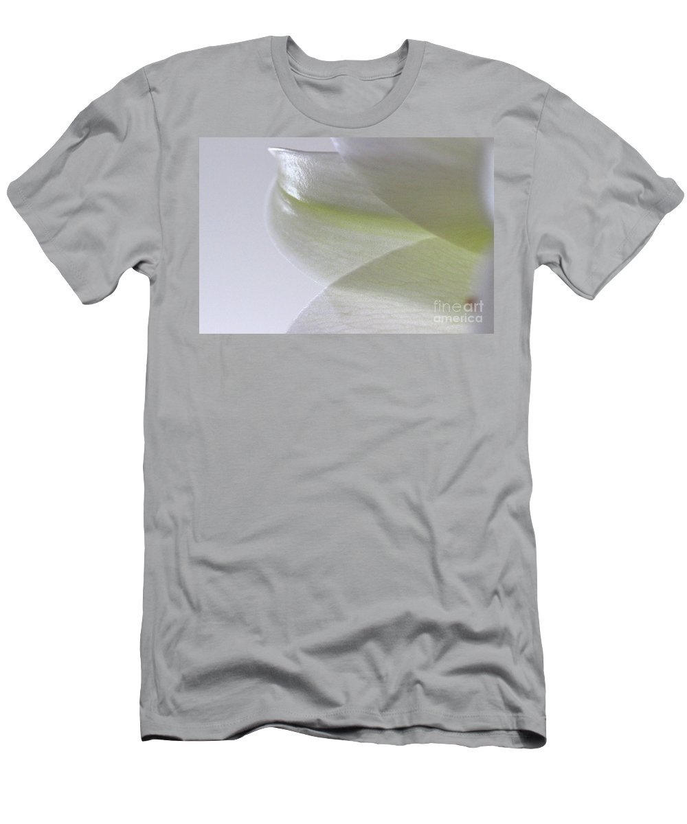 Flower Men's T-Shirt (Athletic Fit) featuring the photograph Softly by Karen Adams