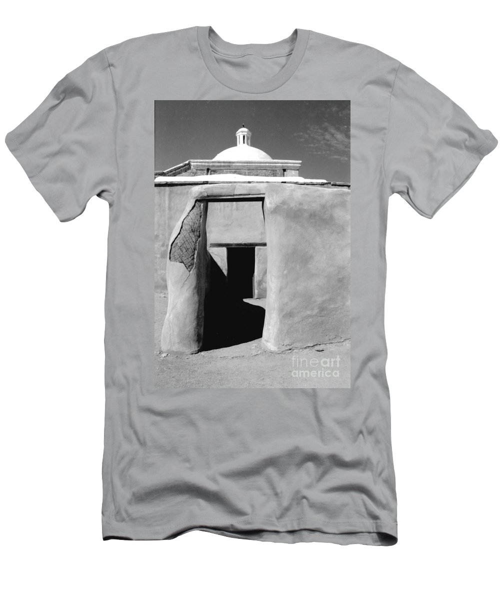 Shadows Men's T-Shirt (Athletic Fit) featuring the photograph Sol Y Sombra by Kathy McClure