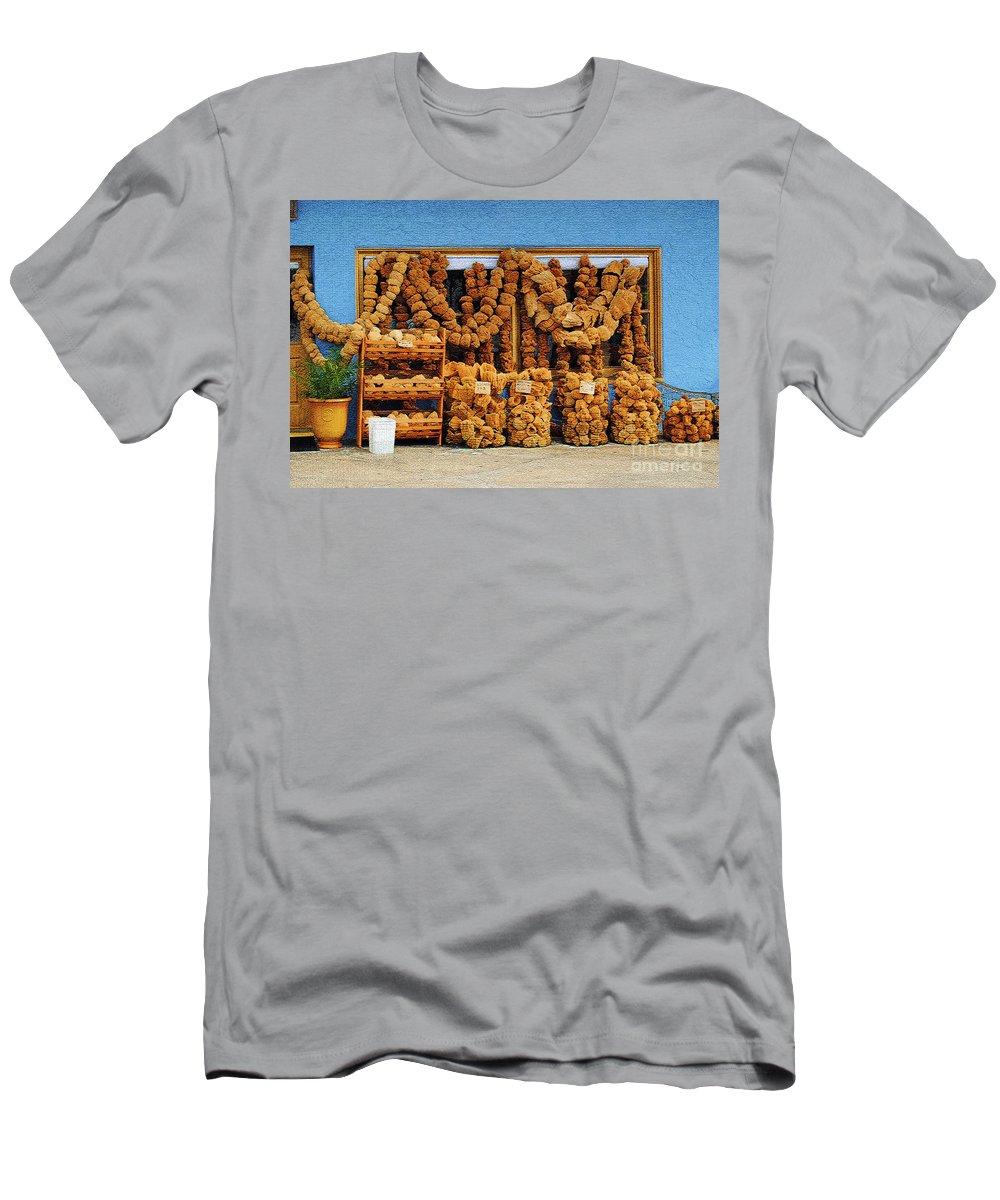Sponges Men's T-Shirt (Athletic Fit) featuring the photograph Sponges For Sale by Jost Houk