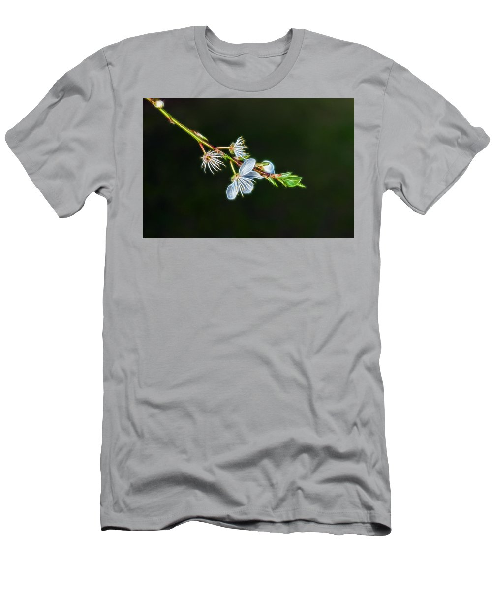 Nature Men's T-Shirt (Athletic Fit) featuring the photograph Spring by Lee Houston
