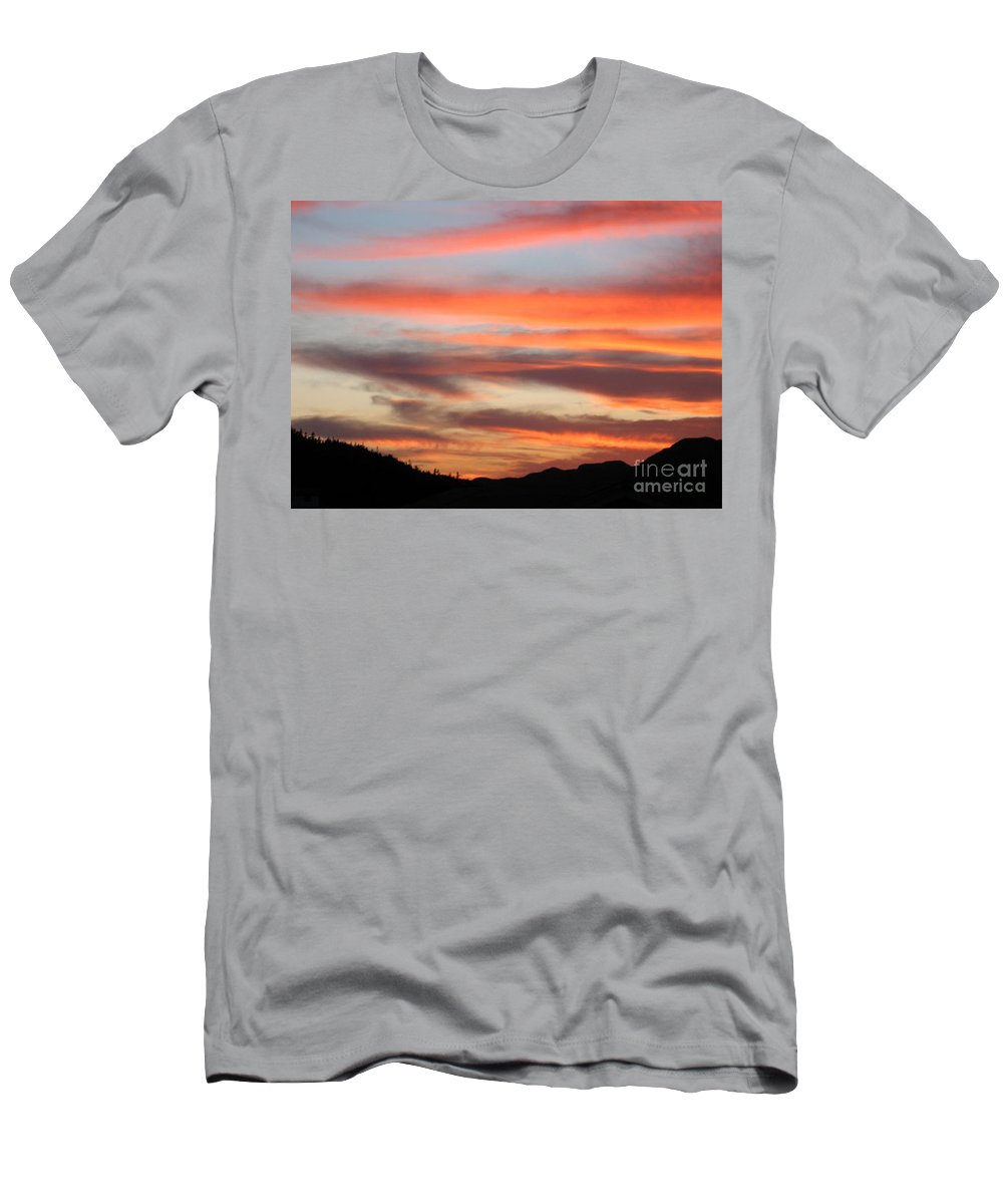 St. Joseph's Sunset Men's T-Shirt (Athletic Fit) featuring the photograph St. Joseph's Sunset by Barbara Griffin