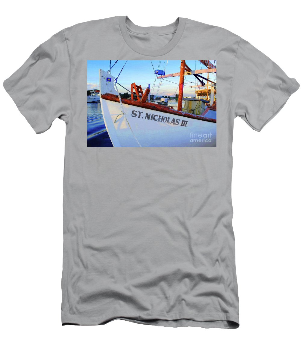 Ship Men's T-Shirt (Athletic Fit) featuring the photograph St. Nicholas IIi by Jost Houk