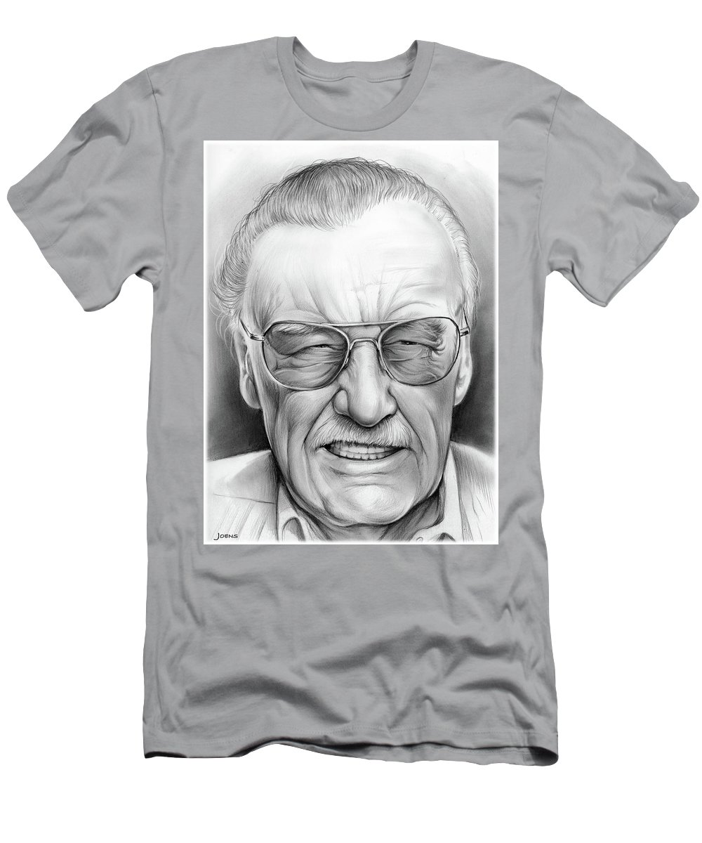 38d1d168 Stan Lee T-Shirt for Sale by Greg Joens
