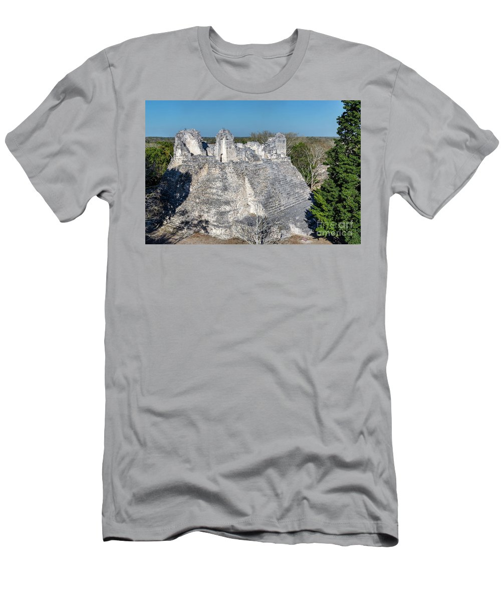 Becan Men's T-Shirt (Athletic Fit) featuring the photograph Structure Nine In Becan by Jess Kraft