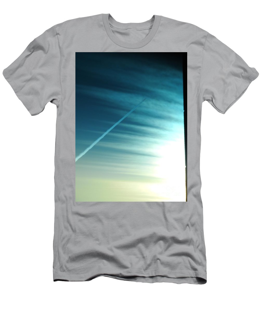 Sun Light Men's T-Shirt (Athletic Fit) featuring the photograph Sun Rays by Jeffery L Bowers