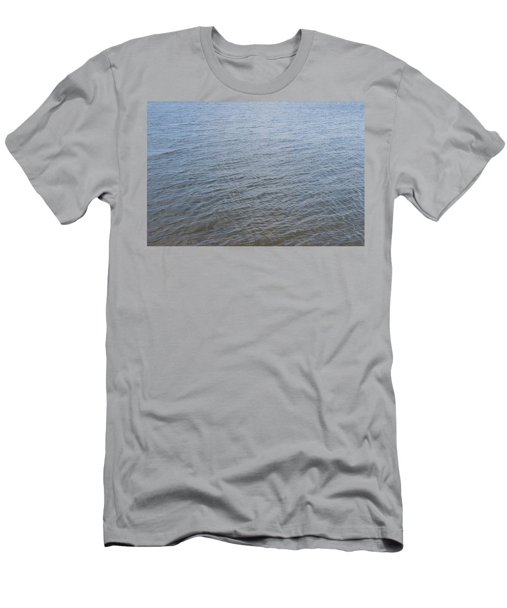 Water Men's T-Shirt (Athletic Fit) featuring the photograph Surface Water by Alexander Borisov