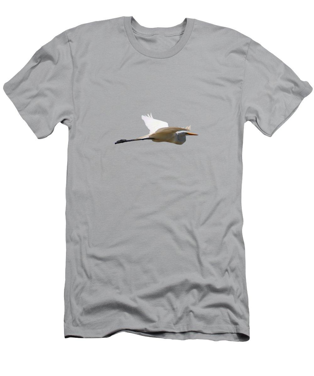 Egret Photographs T-Shirts