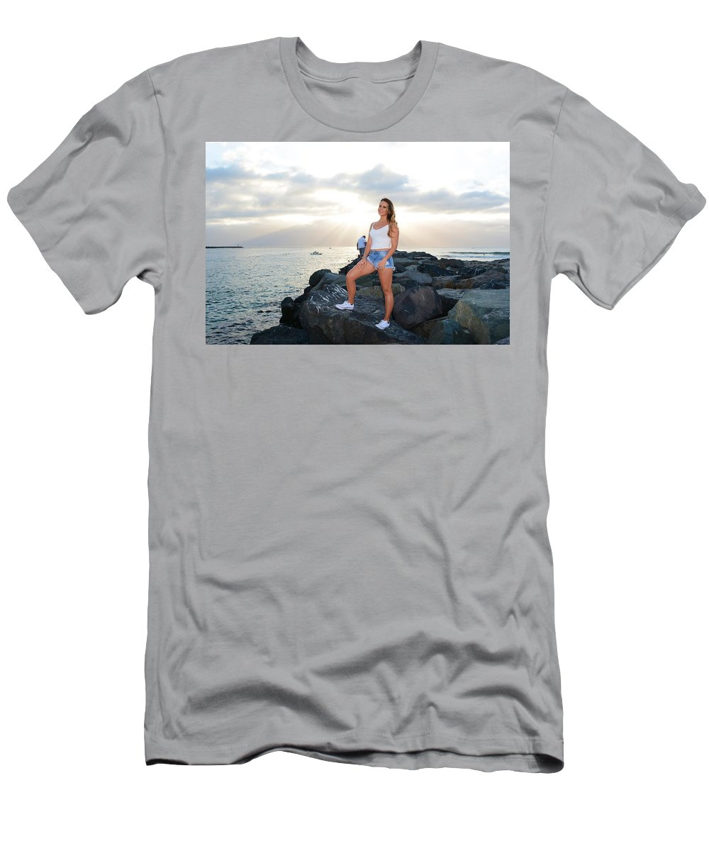 Fashion Men's T-Shirt (Athletic Fit) featuring the photograph Taylor 035 by Remegio Dalisay