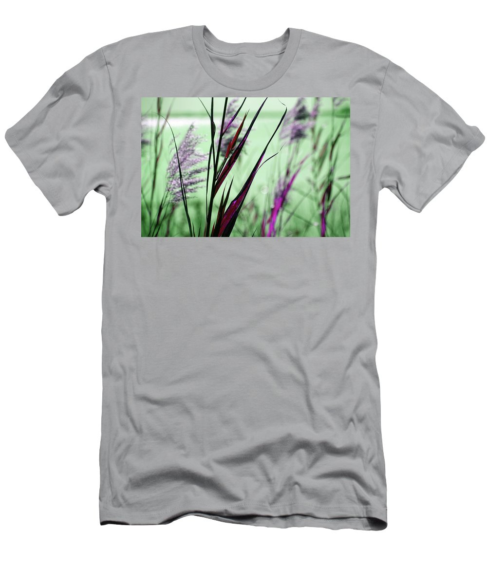 Magic Men's T-Shirt (Athletic Fit) featuring the photograph That Magic Color by Susanne Van Hulst