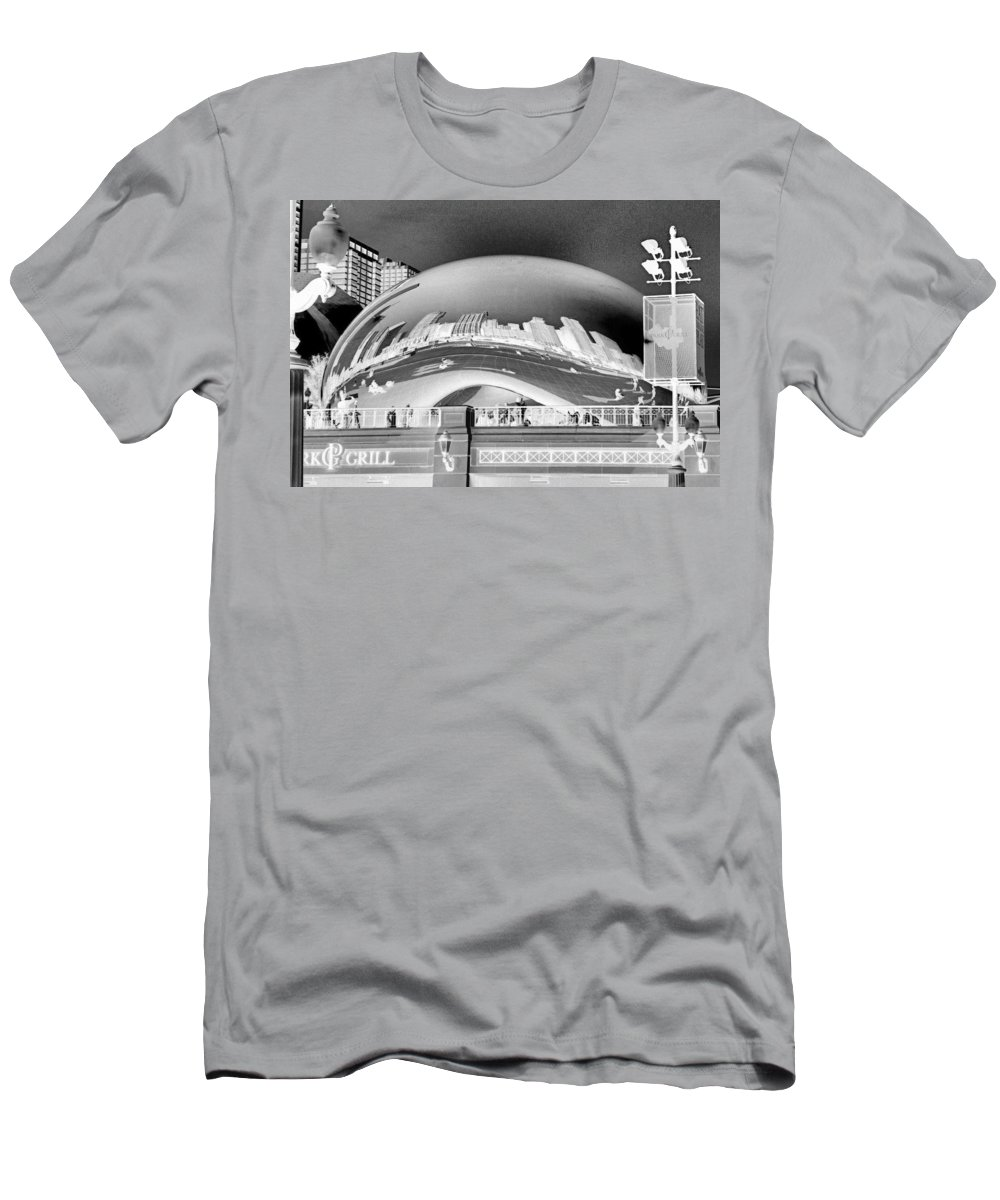 Bean T-Shirt featuring the photograph The Bean - 1 by Ely Arsha