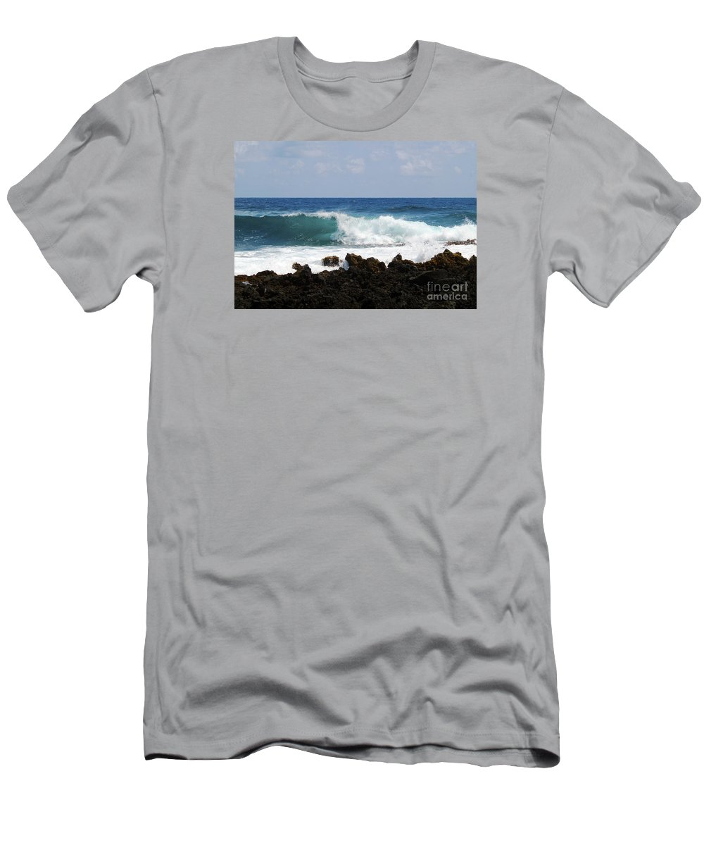 Fine Art Photography Men's T-Shirt (Athletic Fit) featuring the photograph The Beauty Of The Sea by Patricia Griffin Brett