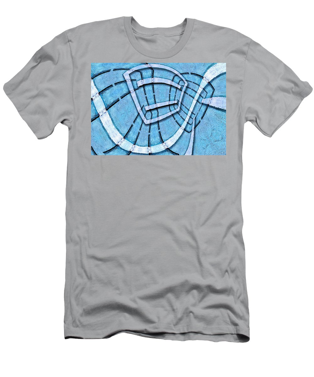 Photography Men's T-Shirt (Athletic Fit) featuring the photograph The Blue Room by Paul Wear