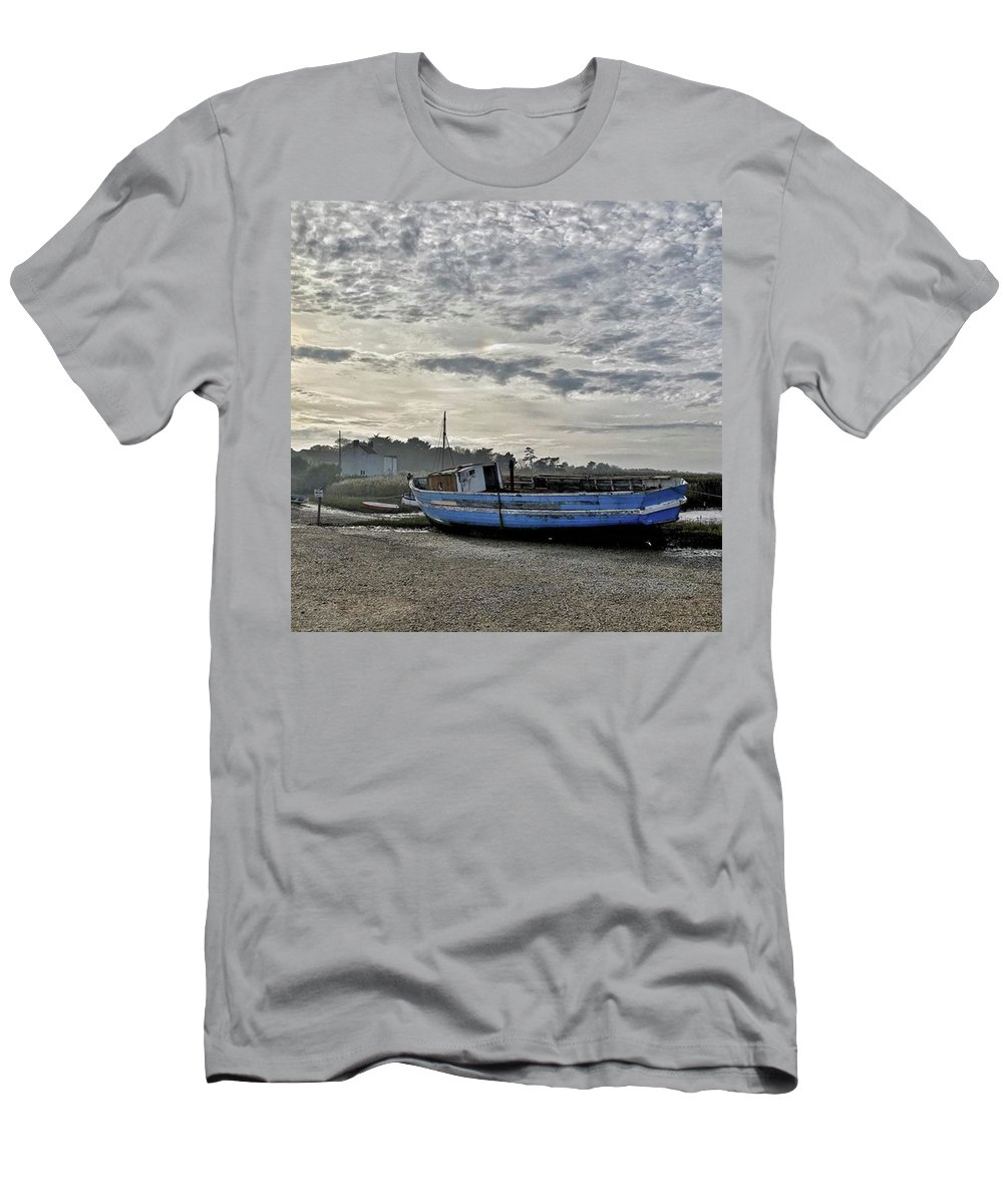 Beautiful T-Shirt featuring the photograph The Fixer-upper, Brancaster Staithe by John Edwards