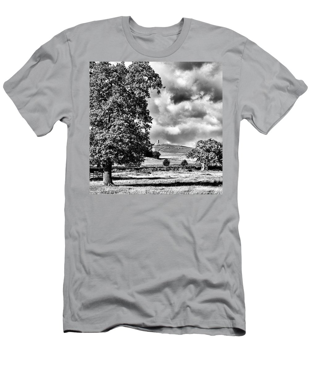 Parkland T-Shirt featuring the photograph Old John Bradgate Park by John Edwards