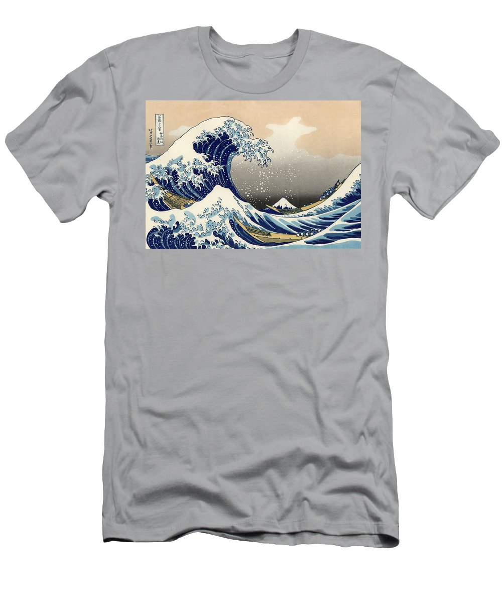 For Off Shirt Wave T The Hokusai Kanagawa By Great Katsushika Sale CdeBxo