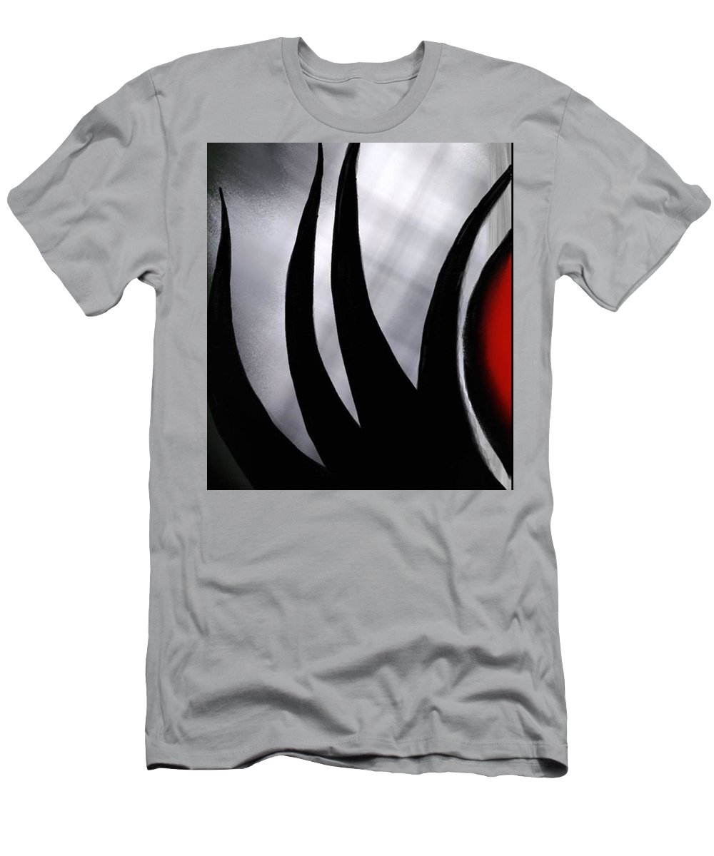 Men's T-Shirt (Athletic Fit) featuring the digital art The Have Nots Part 1 by Reddick Mack