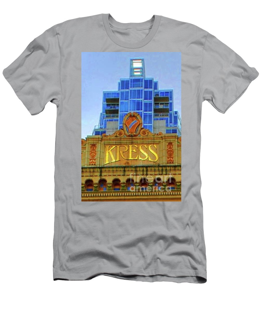 Kress Men's T-Shirt (Athletic Fit) featuring the photograph The Kress by Jost Houk