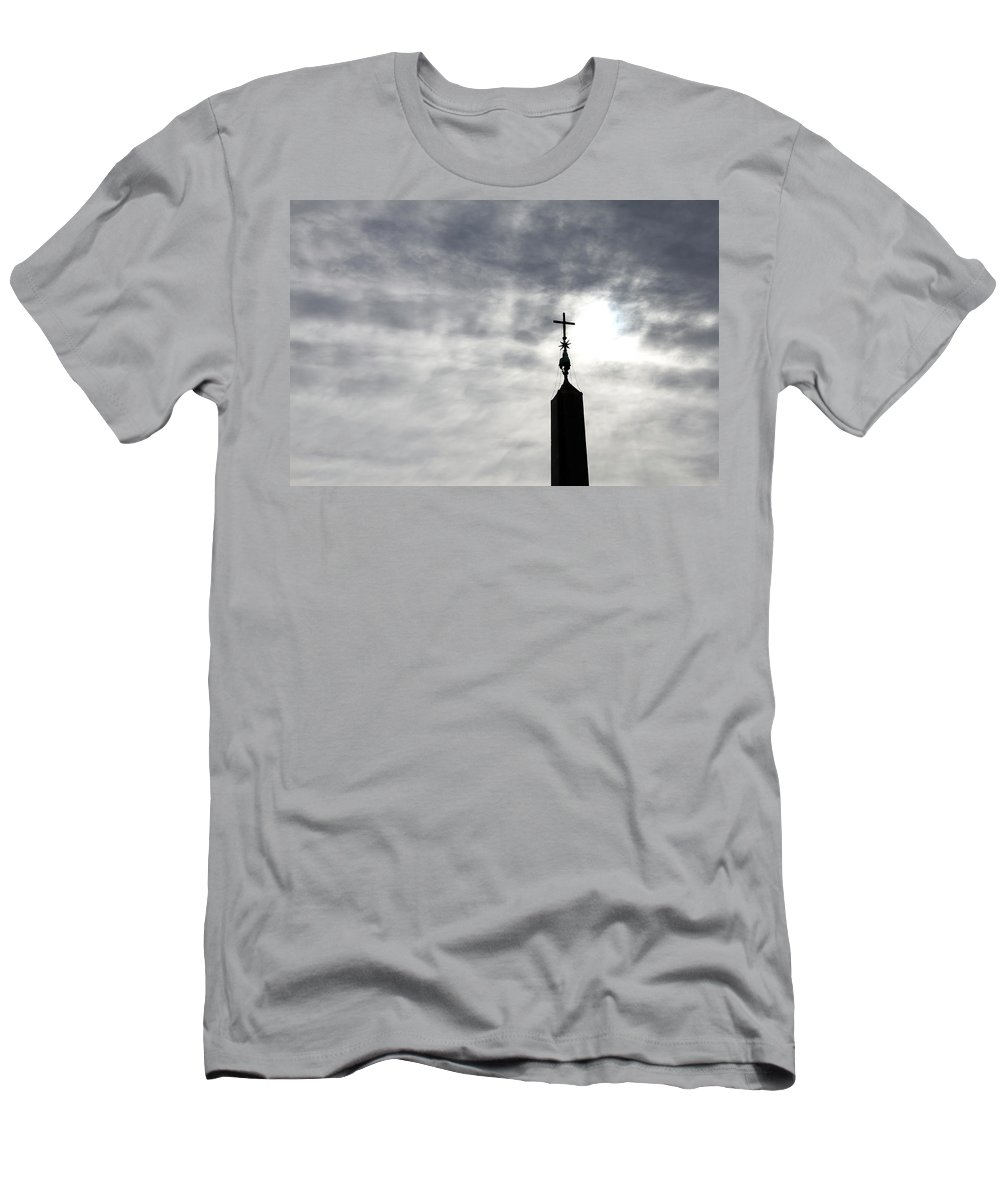 Light Men's T-Shirt (Athletic Fit) featuring the photograph The Light by Munir Alawi