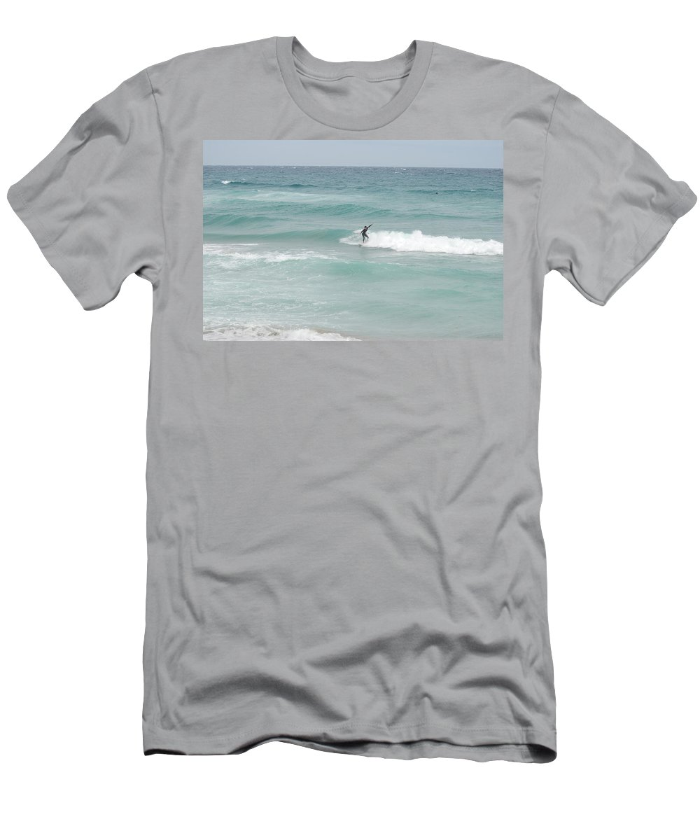 Water Men's T-Shirt (Athletic Fit) featuring the photograph The Long Summer by Rob Hans