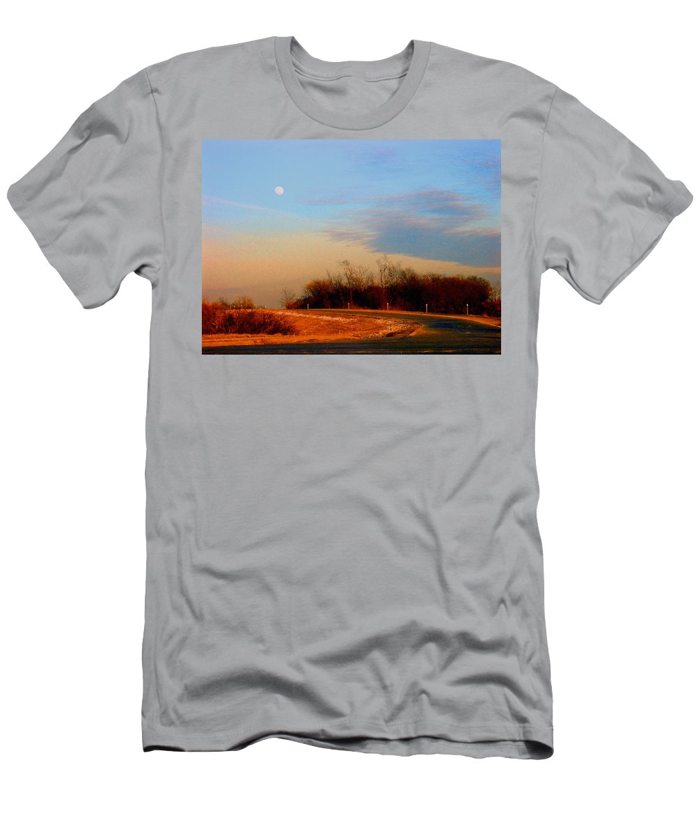 Landscape T-Shirt featuring the photograph The On Ramp by Steve Karol