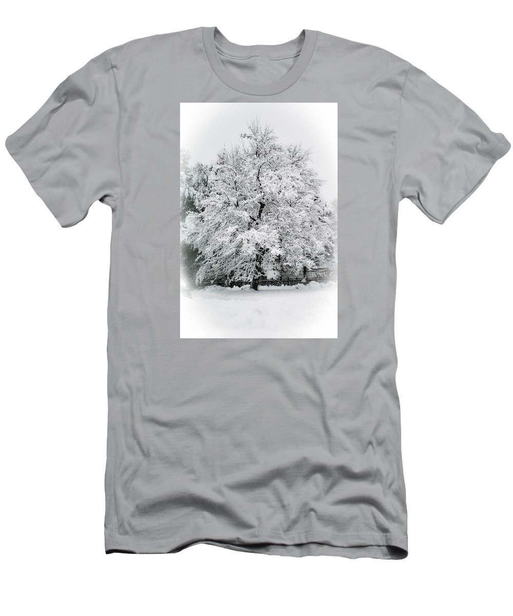 Tree T-Shirt featuring the photograph The Pear Tree by Heather Hubbard