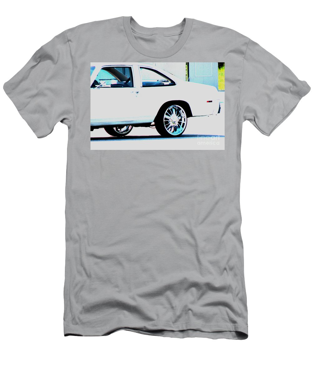 Car Men's T-Shirt (Athletic Fit) featuring the photograph The Ride by Amanda Barcon